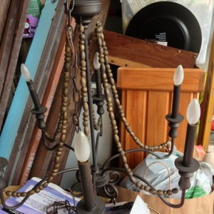 pirate chandelier!(rummage)