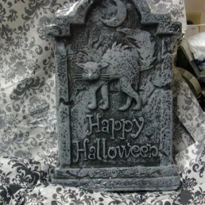 A nifty mini tombstone