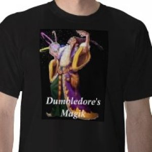 Dumbledore's Magik shirt  I can put Your Logo On shirts