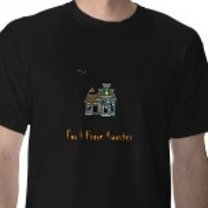 I m a home haunter shirt   I'm A Home Haunter T-shirt letter in Orange