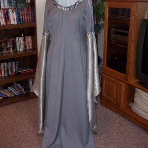 Something a bit more LOTR, I did love this dress.  The lady that bought it also ordered a matching shirt for her husband.