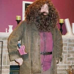 -Hagrid me-  From Halloween...'06?