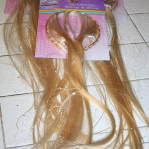 for Rapunzel's hair - add to wig