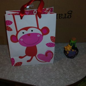 Cool Monkey Valentine bag