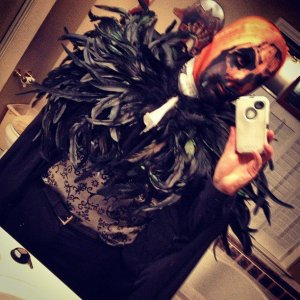 "2012, party theme was the ""HallowBall"" in which I was the ""HallowKing"""