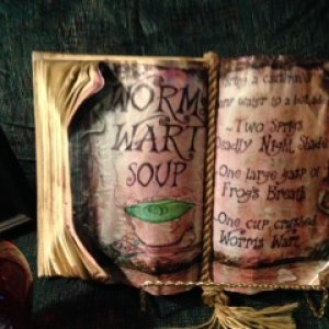 worm's wart soup book
