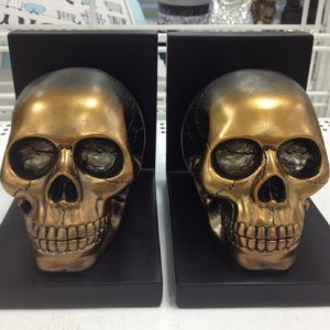 ROSS DRESS FOR LESS, 2014. Bought these great bookends for my haunt, 7.99 each.