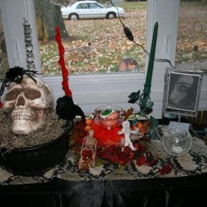 Display by front window