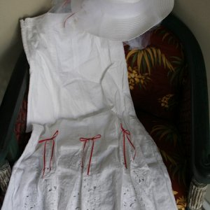 Mary Poppins carousel ride costume for Lady Sherry's Scary Tales theme
