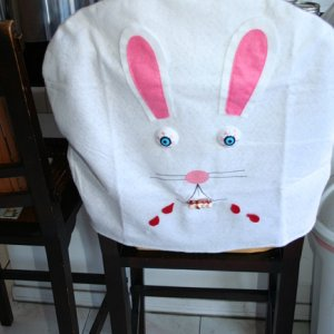 White Rabbit chair cover for Lady Sherry - mini reaper 2014