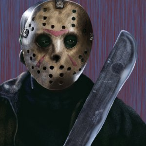 VorheesFinal  My digital painting of Jason Vorhees