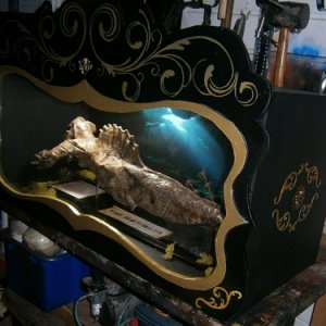 fiji mermaid update display case Twisted Endeavors