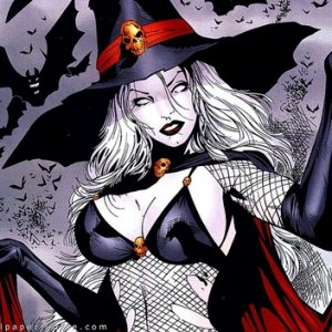 937372  lady death witch p