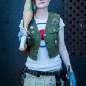 Tank Girl costume. Photo by Ken Pearson.