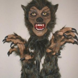 Werewolf head and hands 5