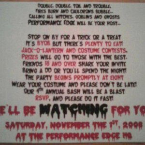 The text for my 2008 party invitations.