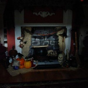witches fireplace