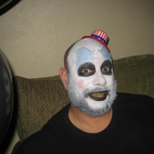 My friend Eric dressed as Captain Spaulding