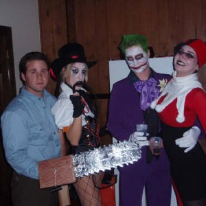 my friends that helped out so much.  I'm the joker...