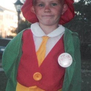 Matthew as the keebler man