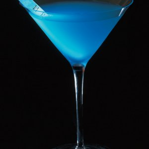 Hipnotist 2 oz Hpnotiq 1 oz super premium vodka splash of lemon juice  Pour the ingredients into a cocktail shaker filled with ice. Shake well.Strain