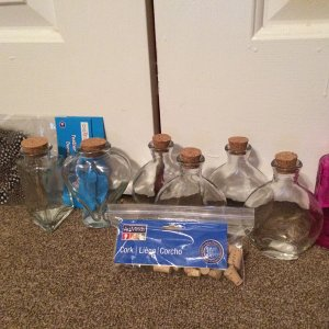Michaels Potion Bottles and Supplies - June 2014