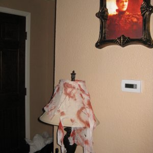 Some interior decorating photos - before lighting.