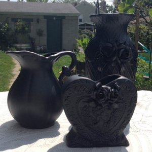 Altered Victorian Vases 1