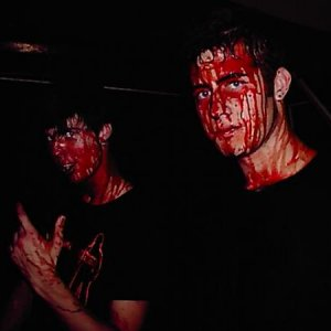 This is Ben and Drew.... they love their blood!!  CCHA 2007