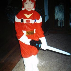 The Red Power Ranger