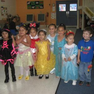 Some of my preschoolers last Halloween