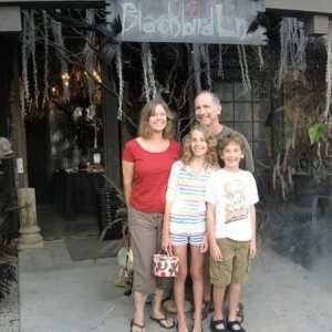 The Colemans at Roger's Gardens. We're excited to see what ghoulish pleasures Mad Madeline's Manor holds for us.