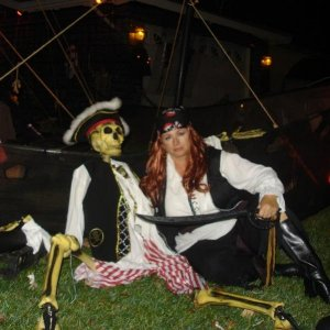 Me First Mate and  me wench