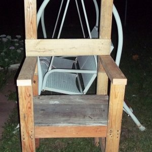 Beginning of new electric chair