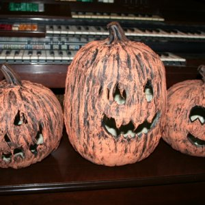 summer project - corpsed pumpkins