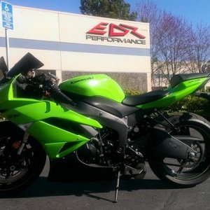 My new Kawasaki zx6r Ninja this is my other passion when not doing Halloween