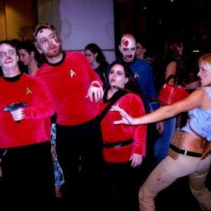 Ash vs. Dead Red Shirts.