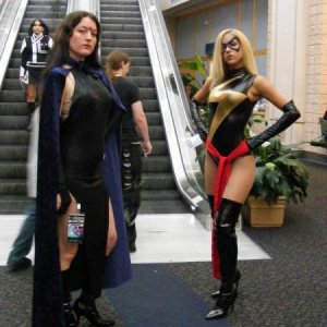 Raven & Ms. Marvel