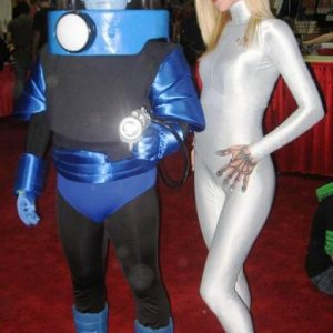 Seven of Nine & Mr. Freeze