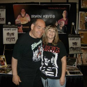 Irwin Keyes and ME!