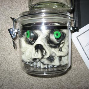face in jar...going to improve on this one