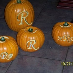 More pumpkins, just because they're cool =)