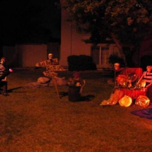 Night yard display 2