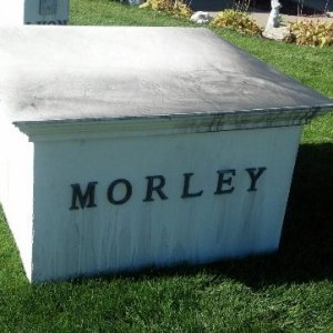 Morley, King, Lyon sole purpose is to cover electrical boxes on Southside of cemetery.