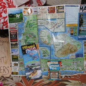 Some maps and guides straight from Hawaii!