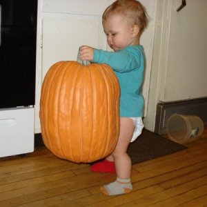 ooo pumpkin lifting!