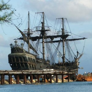 Th' real Black Pearl ship