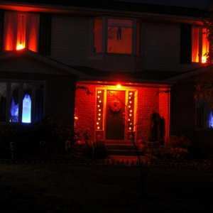 Our spooky house