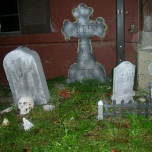 My measly graveyard