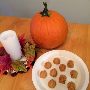 White Chocolate Pumpkin Fudge 2014